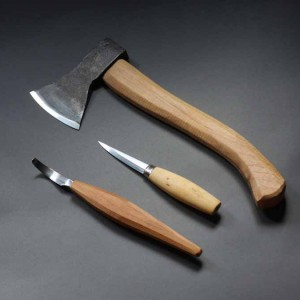 Spoon carving starter tools