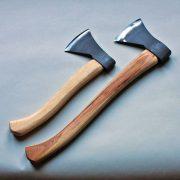 Bushcraft axe and carving axe