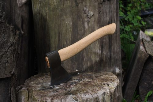 robin wood carving axe
