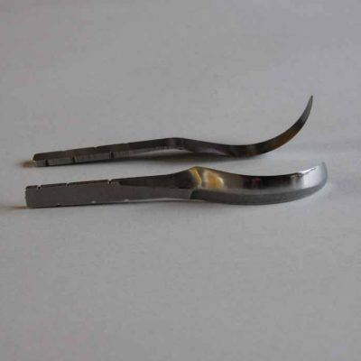left handed spoon blade open curve