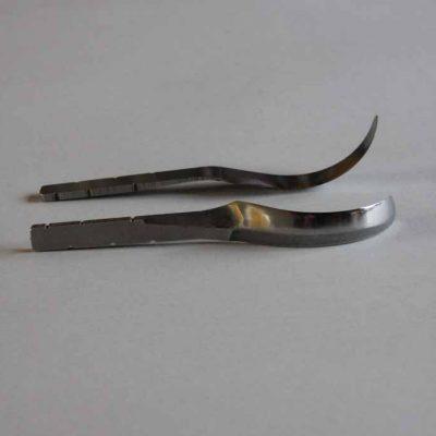 left handed spoon blade open curve